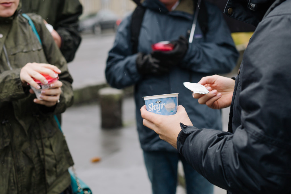 Join our amazing and delicious Reykjavik Food Walk, were you can try out the tasty skyr! Photo by @dan_vlz and @jush_jush